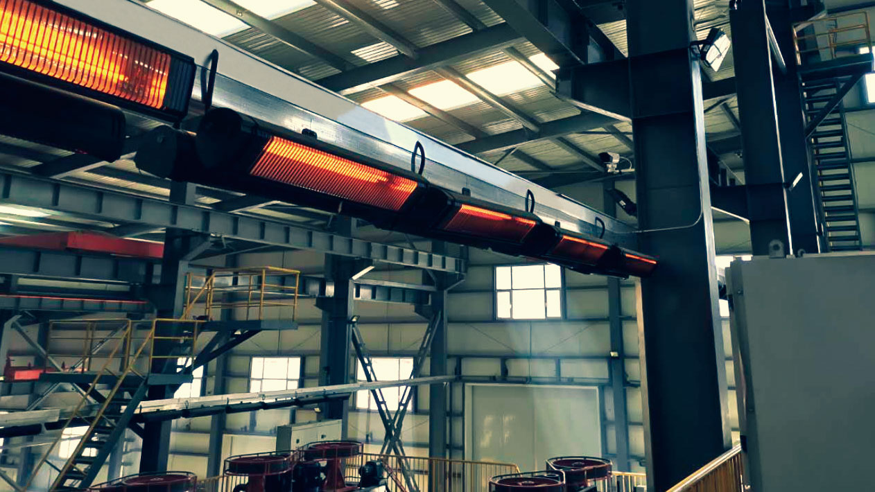 Liangdi Infrared Heater For Workshop Heating